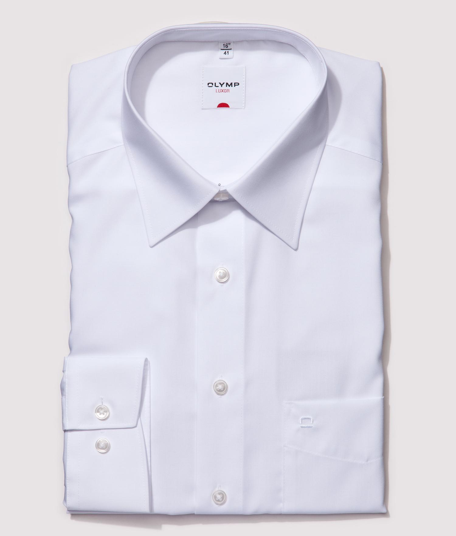 Olymp - Kauluspaita, Comfort Fit, 105-0250-64 Valkoinen