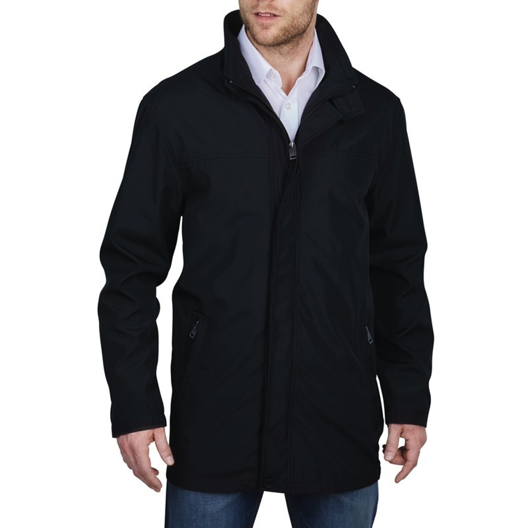 Redpoint Miesten Kevättakki, Bonded Jacket Musta