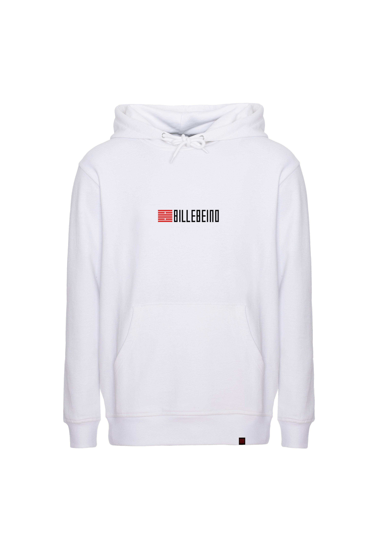 Billebeino Collegehuppari, Small Brick Text Hoodie Valkoinen