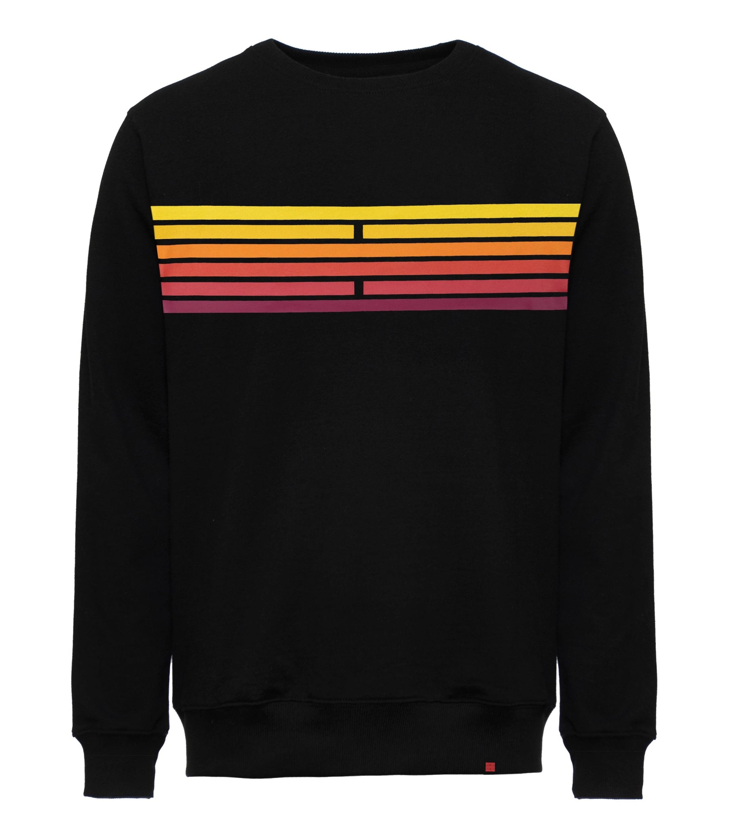 Billebeino Collegepusero, Scale Sweater Musta