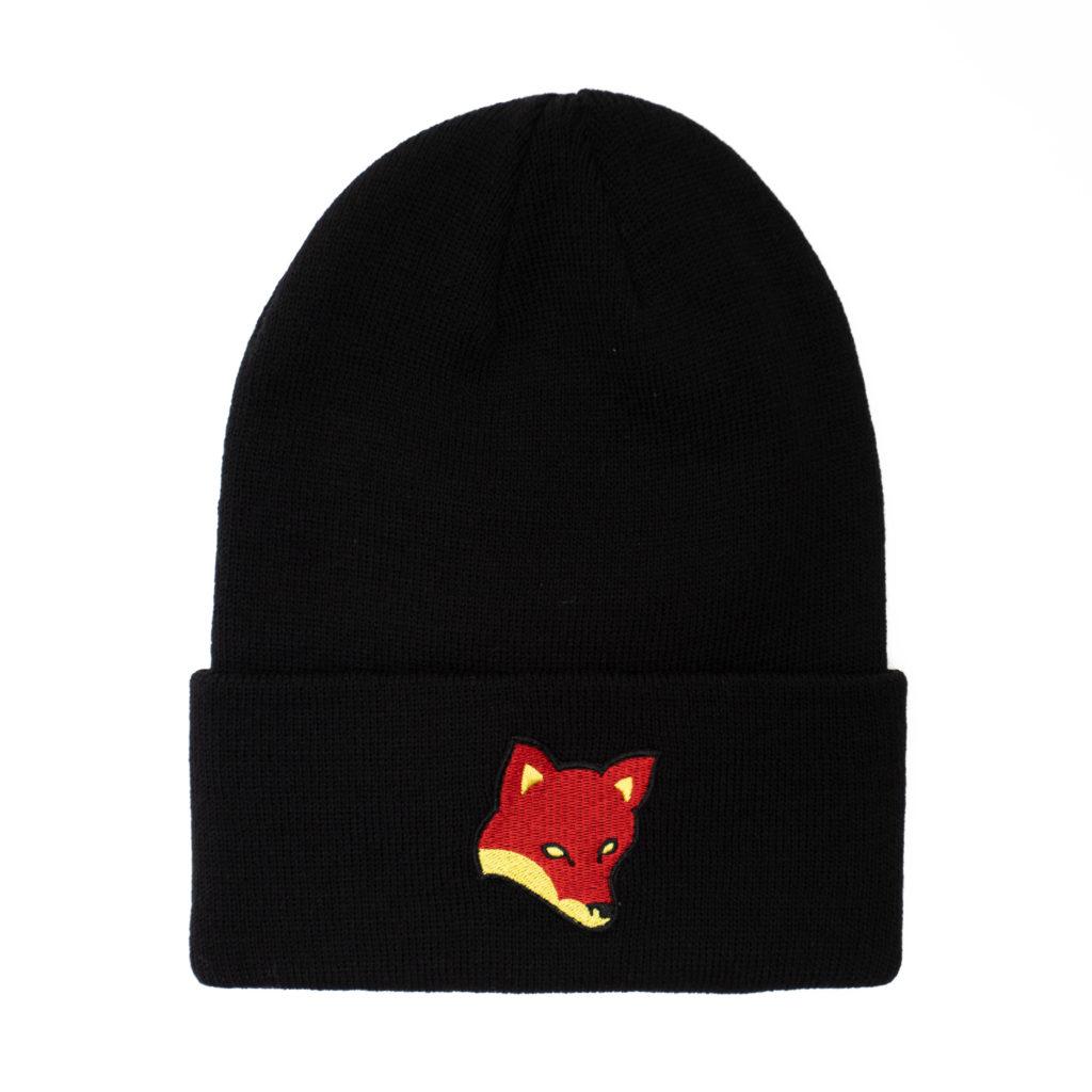 Billebeino Pipo, Fox Beanie Musta