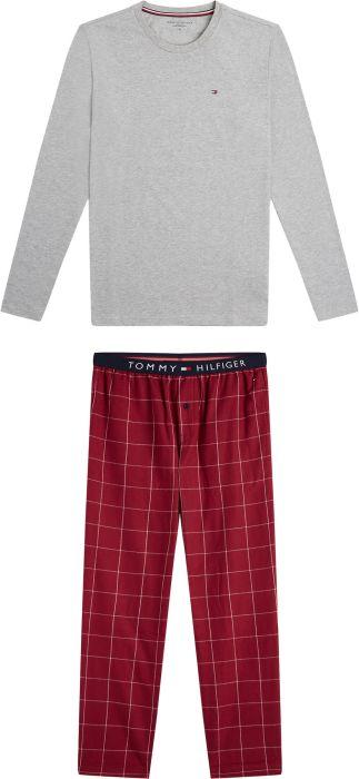 Miesten Haisuli lyhythihainen pyjama, harmaa