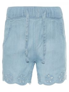 Name It Tyttöjen Shortsit, Randi Denim Vaaleansininen