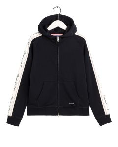 gant-naisten-collegehuppari-archive-sweat-zip-hood-musta-1
