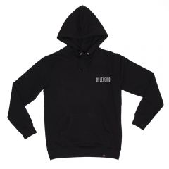 Billebeino Collegehuppari, Back And Front Hoodie Musta