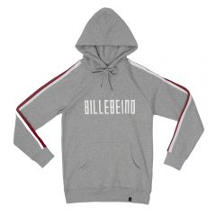 Billebeino Collegehuppari, With Stripes Hoodie Keskiharmaa