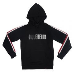 Billebeino Collegehuppari, With Stripes Hoodie Musta