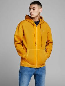 Jack and Jones huppari, AUTUMN TOP SWEAT HOODIE Kirkkaankeltainen