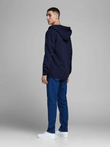 Jack and Jones huppari, AUTUMN TOP SWEAT HOODIE Tummansininen