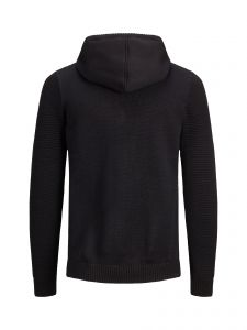jack-and-jones-huppari-jcospruce-knit-hood-k-musta-2