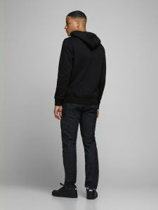 jack-and-jones-miesten-huppari-booster-sweat-hood-musta-2