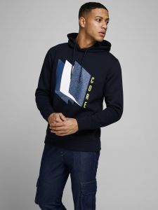 jack-and-jones-miesten-huppari-booster-sweat-hood-tummansininen-1