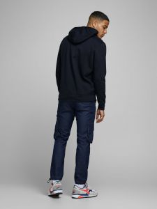 jack-and-jones-miesten-huppari-booster-sweat-hood-tummansininen-2