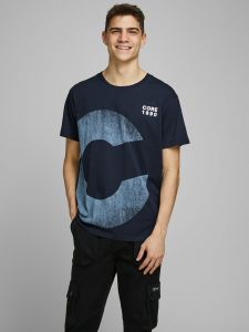 jack-and-jones-miesten-t-paita-wood-tee-ss-crew-neck-tummansininen-1