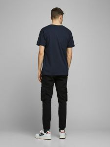 jack-and-jones-miesten-t-paita-wood-tee-ss-crew-neck-tummansininen-2