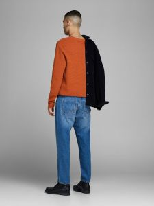 Jack and Jones neulepusero, ELIAM KNIT CREW Sinapinkeltainen