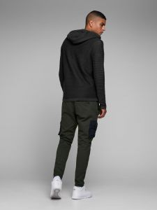 Jack and Jones neuletakki, WIND KNIT CARDIGAN Musta