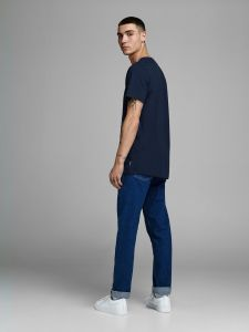 Jack and Jones t-paita, DORSEY TEE Tummansininen