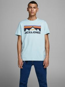 Jack and Jones t-paita, DORSEY TEE Turkoosinsininen
