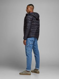 Jack and Jones Takki,BOMB PUFFER JACKET Musta