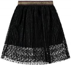 Name It Lasten Pitsihame, Sol Lace Midi Skirt Musta