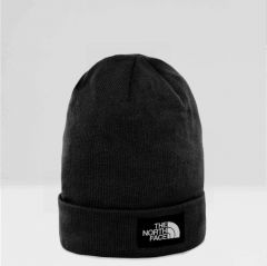 North Face Pipo, Dock Worker Recycled Beanie Musta