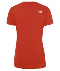 north-face-ss-easy-tee-oranssi-2