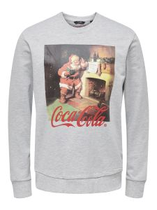 only-and-sons-miesten-collegepusero-coca-cola-xmas-regular-sweat-keskiharmaa-1