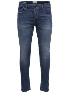 Only and Sons Miesten Farkut, Loom D Wash 2044 Indigo