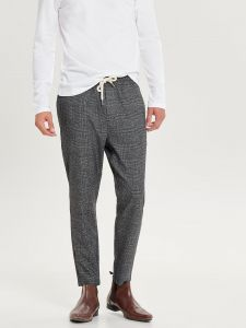 only-and-sons-miesten-housut-linus-pant-harmaa-ruutu-1