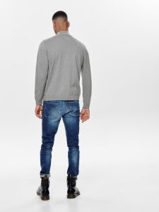 only-and-sons-miesten-neule-alex-high-neck-knit-vaaleanharmaa-2