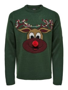 only-and-sons-miesten-neule-xmas-7-fun-budge-jaquard-knit-ruohonvihrea-1
