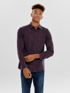 only-and-sons-miesten-pusero-gabriel-ls-knitted-shirt-viininpunainen-1