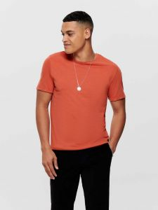 only-and-sons-miesten-t-paita-albert-o-neck-oranssi-1