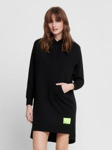 only-naisten-collegemekko-chili-ls-hood-dress-musta-1