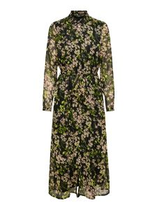 only-naisten-mekko-daisy-ls-ancle-shirt-dress-musta-kuosi-1