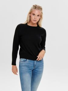 only-naisten-neule-lesly-kings-ls-pullover-musta-1
