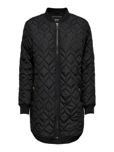 only-naisten-tikkitakki-allison-quilted-long-bomber-musta-1
