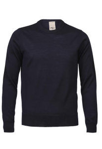 Philosophy Blues Original Miesten Neule, O-neck Indigo