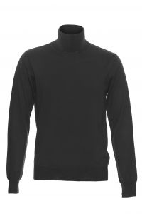 Philosophy Blues Original Miesten Pooloneule, Roll Neck Musta