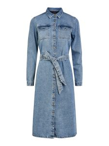 pieces-naisten-farkkumekko-namir-ls-denim-shirt-dress-indigo-1