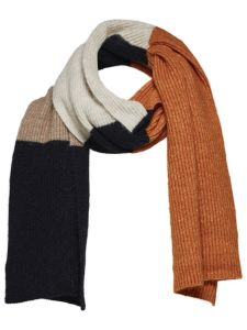 selected-femme-huivi-laura-knit-scarf-raidallinen-beige-1