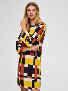 selected-femme-naisten-mekko-hadley-tunni-short-dress-monivarinen-kuosi-1