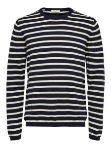 selected-neule-sal-stripe-crew-neck-raidallinen-sininen-1