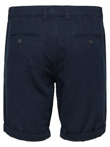 selected-pellavashortsit-straight-paris-linen-short-tummansininen-2