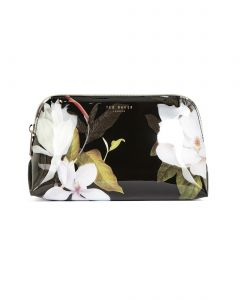 ted-baker-meikkipussi-lacee-make-up-bag-medium-musta-kuosi-1