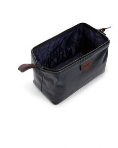 Ted Baker Nahkainen Toilettilaukku, Delly Leather Washbag Tummansininen