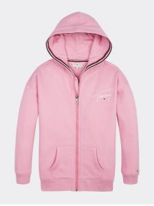 tommy-hilfiger-childrenswear-collegehuppari-tommy-signature-zip-through-vaaleanpunainen-1