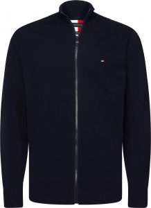 tommy-hilfiger-miesten-neuletakki-flex-zip-through-tummansininen-1