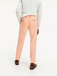 tommy-hilfiger-miesten-puuvillahousut-tapered-chino-summer-twill-persikka-2